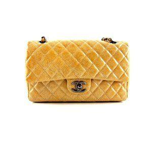 Chanel Medium Double Flap Patent Classic Flap Bag